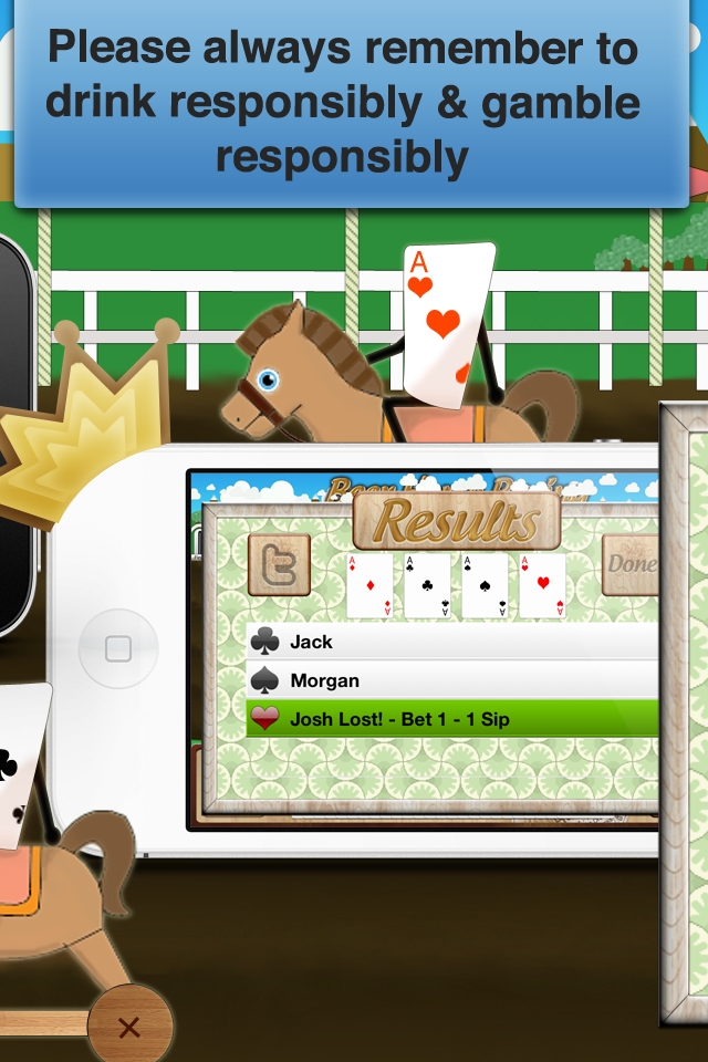 Screenshot Beer Horse Racing Drinking Game